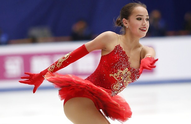 Sexy russian figure skater