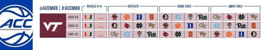 Virginia Tech Calendar 2022.Virginia Tech Future Basketball Schedules Techsideline Com
