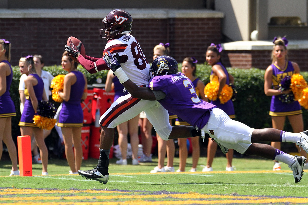 This Demitri Knowles touchdown helped spark a win over ECU.