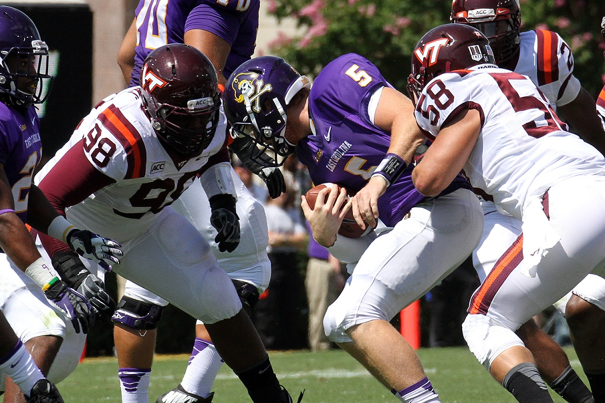The Tech defense dominated the ECU offense.