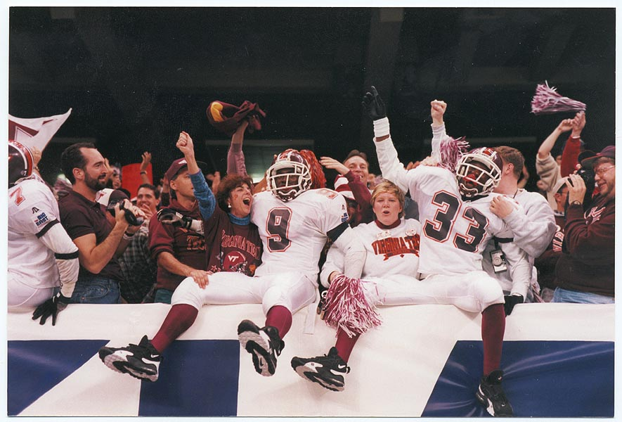 In 1996, the Hokies were coming off a Sugar Bowl win. (Virginia Tech athletics photography)