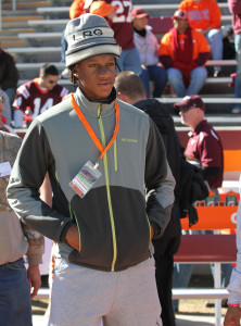 Edmunds has visited Tech many times before.  He'll return to Blacksburg for the 2014 Spring Game.