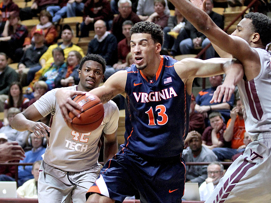 Tech's 2-3 zone frustrated UVA.