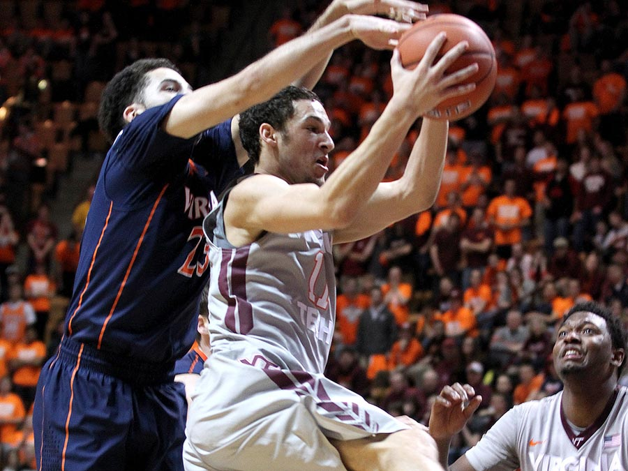 Devin Wilson led VT with 13 points, 5 assists, and just 1 turnover.