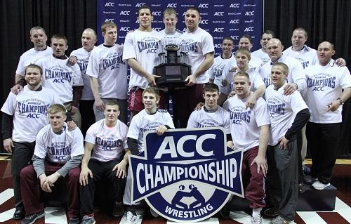 2014.03.08. Wrestling. ACC Championship.