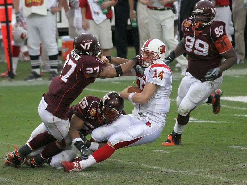 Justin Hamilton Virginia Tech