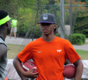 Reynolds at VT's camp in July 2014