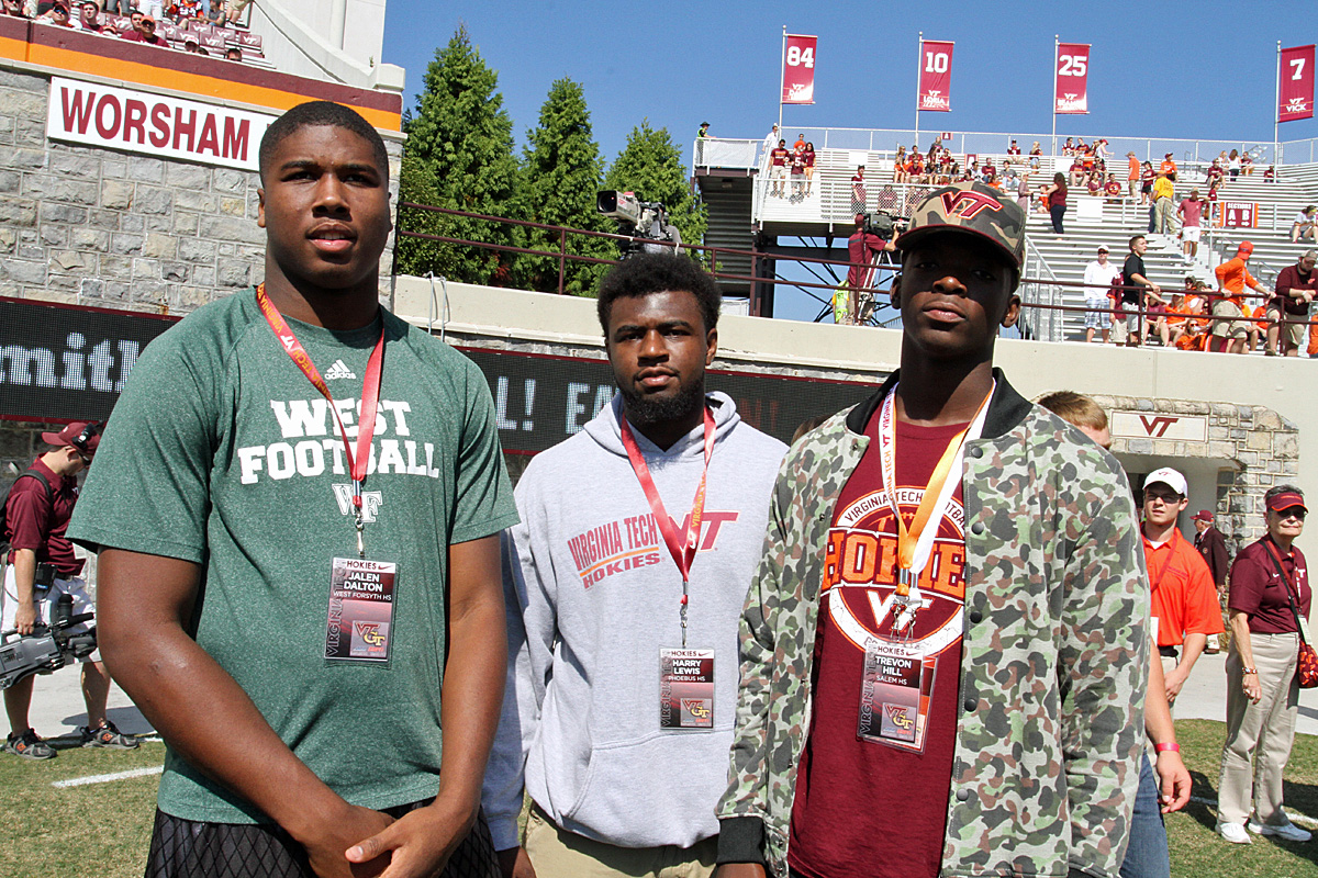 From left to right:  Jalen Dalton, <a href='/player/Harry-Lewis-3723/' srcset=