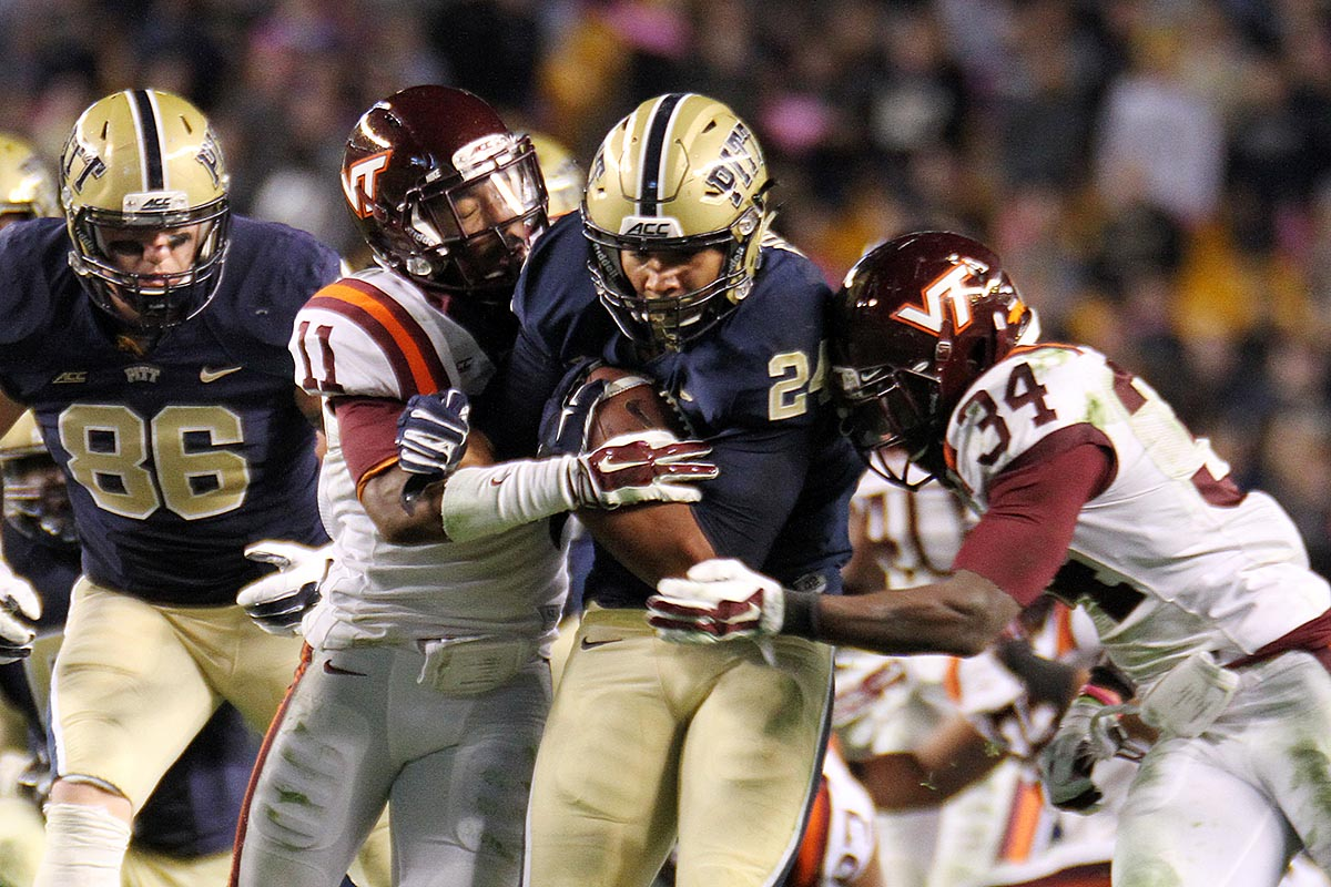 Tech must slow down the jet sweep, as well as tailback James Conner.