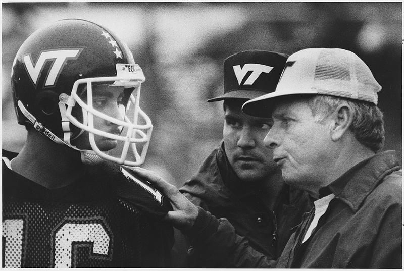 Bill Dooley, photo courtesy Virginia Tech Sports photography