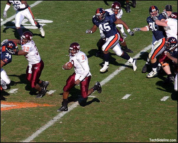 The 2003 Hokies were so bad they actually lost this game to Virginia. True story!