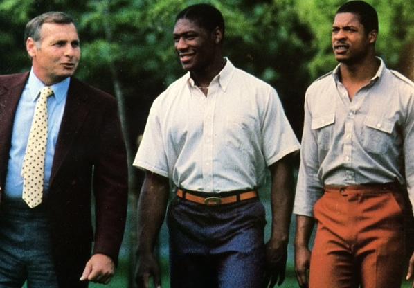 Bill Dooley, Mike Johnson and Ashley Lee, photo courtesy Virginia Tech athletics photography