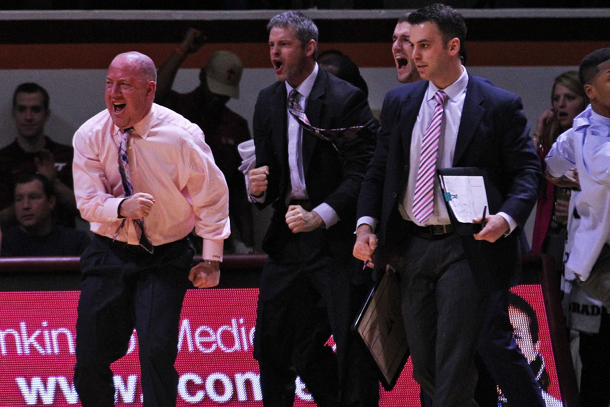Buzz Williams was fired up during Tech's run, but it didn't last.