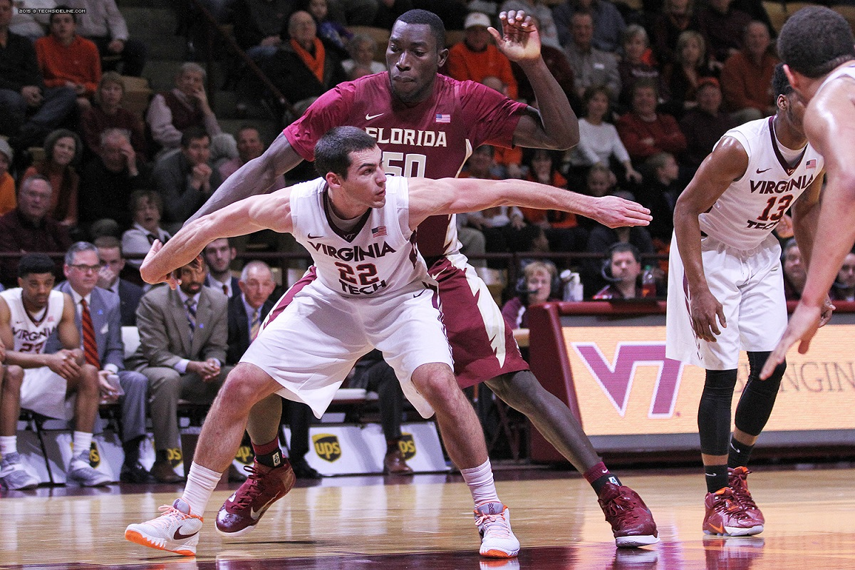7-1, 292 Michael Ojo and Florida State were too much for 6-7, 220 Christian Beyer and the Hokies.