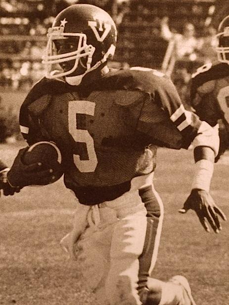 Derek Carter, photo courtesy of Virginia Tech athletics photography.