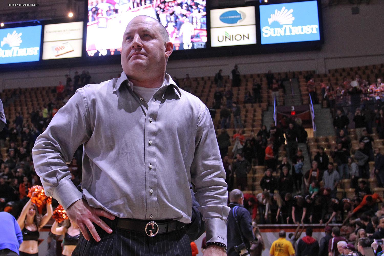 One year into his tenure, Buzz Williams has his gaze squarely set on the future. (photo by Ivan Morozov)