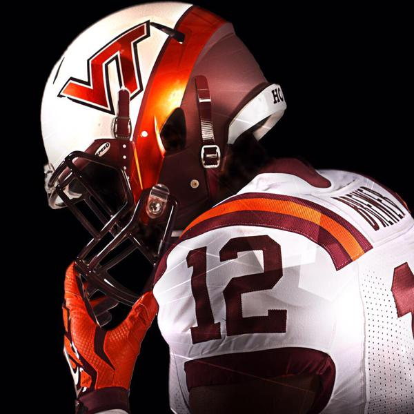 The Hokies Unveil White Effect Unis And They Nailed It