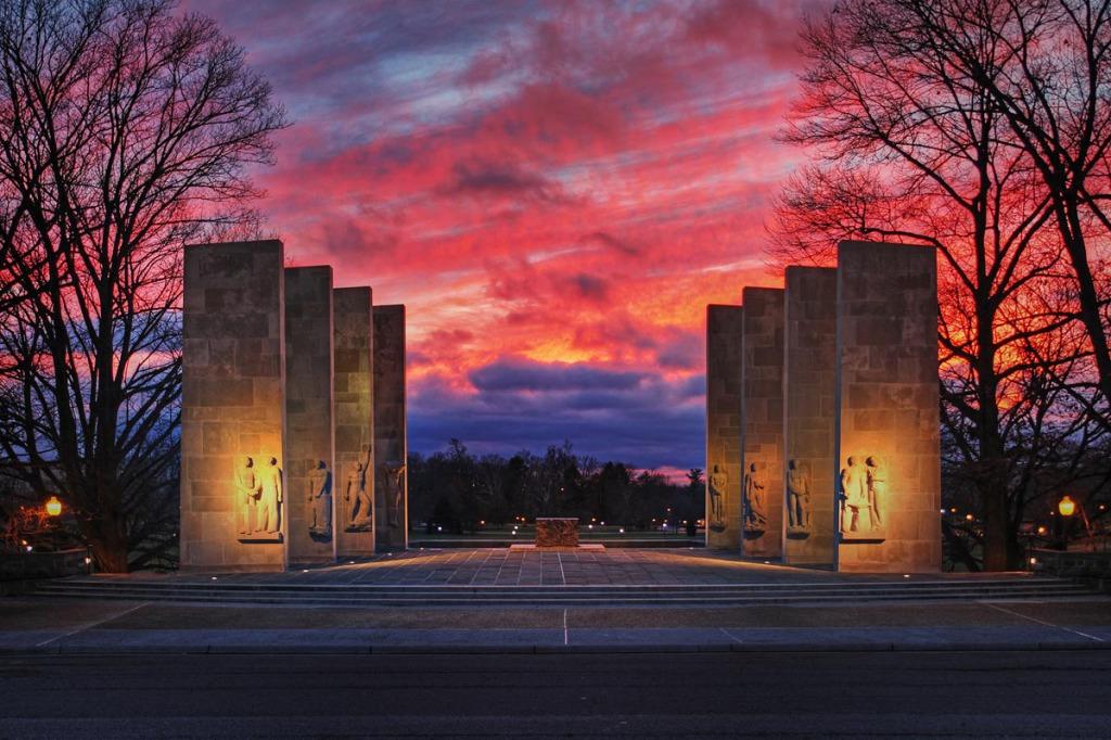 Virginia Tech's War Memorial