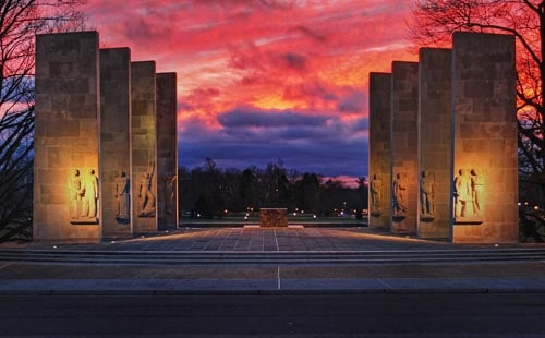 Virginia Tech's War Memorial