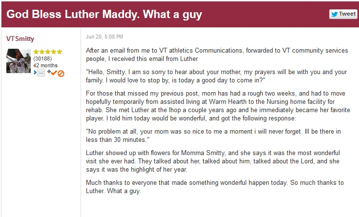 Luther Maddy