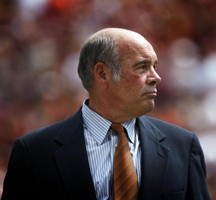Former Virginia Tech Athletic Director Jim Weaver (Roanoke Times 2011 file photo by Matt Gentry)