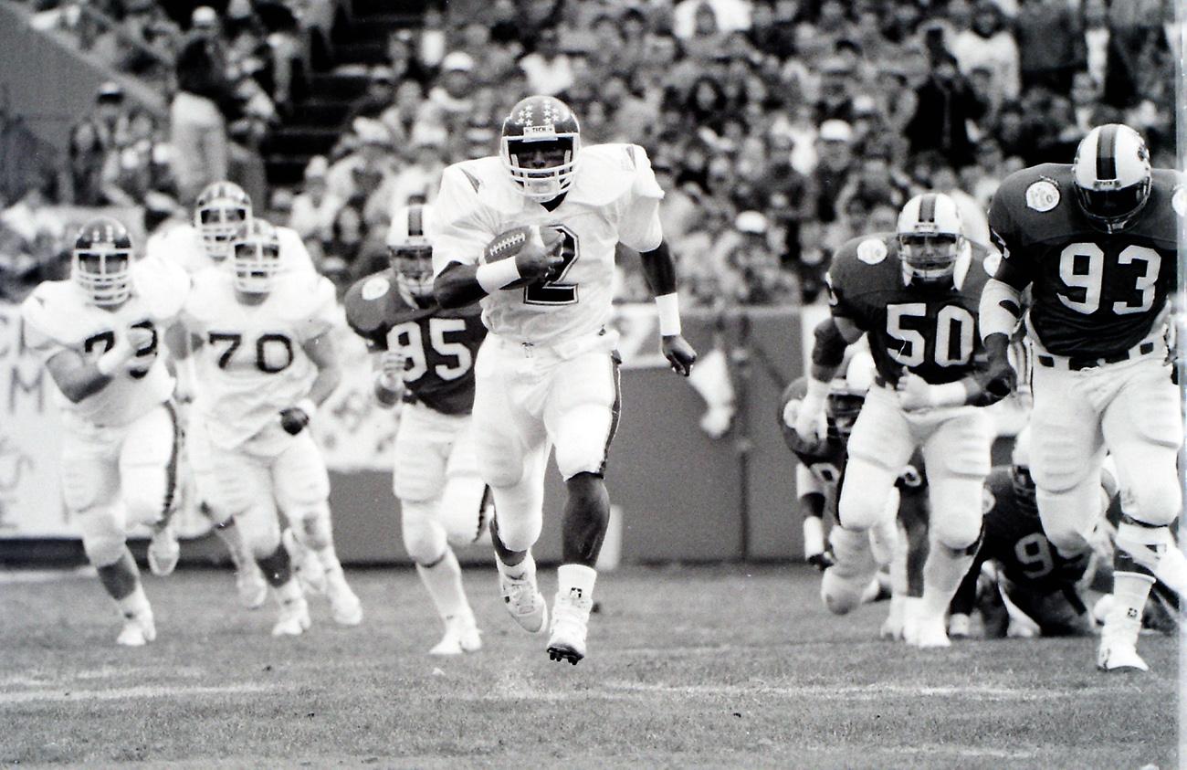 Maurice Williams, courtesy of Virginia Tech athletics photography
