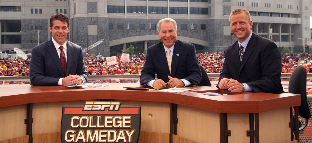 college gameday espn college football belt