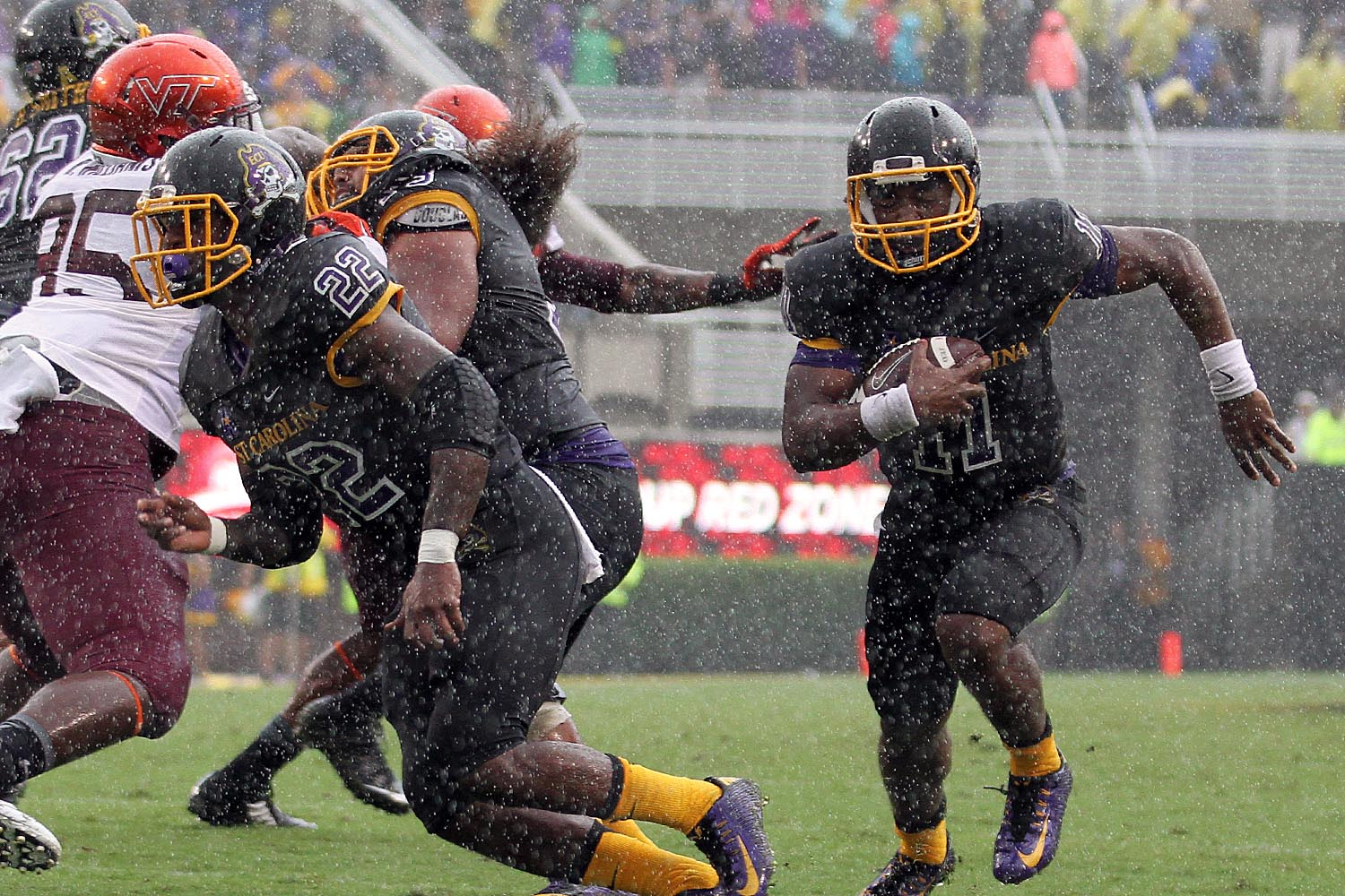 ECU's James Summers beat the Hokies with his eyes closed.