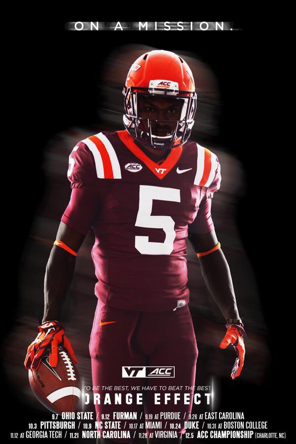 sports shoes 67cf6 96142 TSL Poll: Do You Like Virginia Tech's Uniform Combination ...