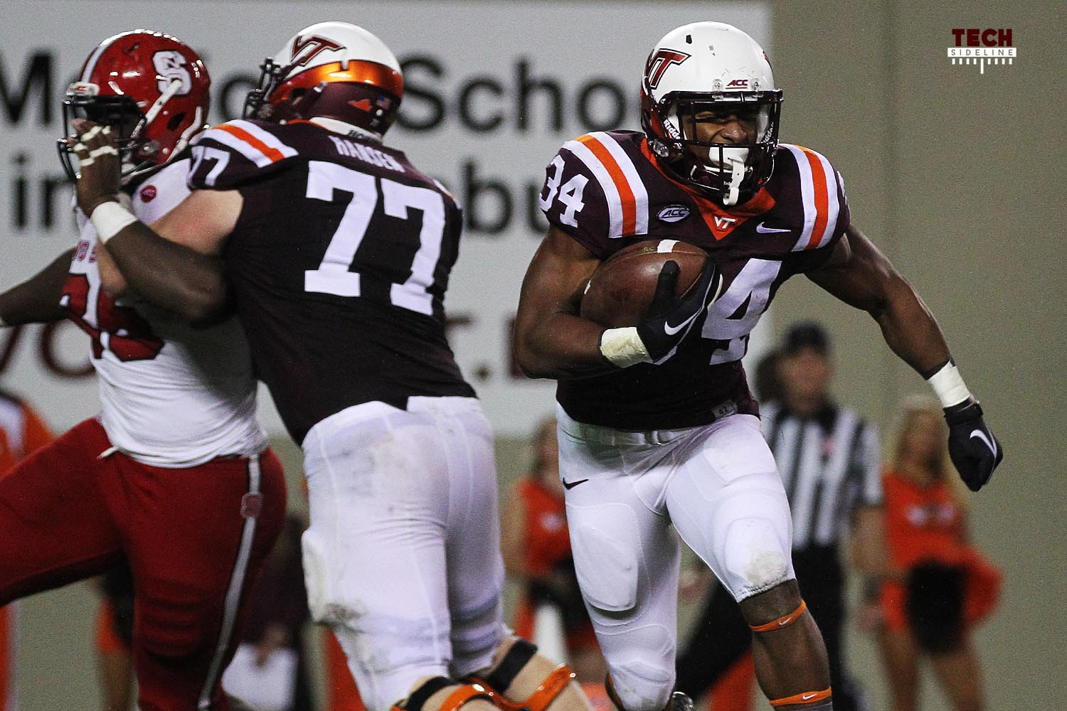 Travon McMillian had 96 yards on just 11 carries