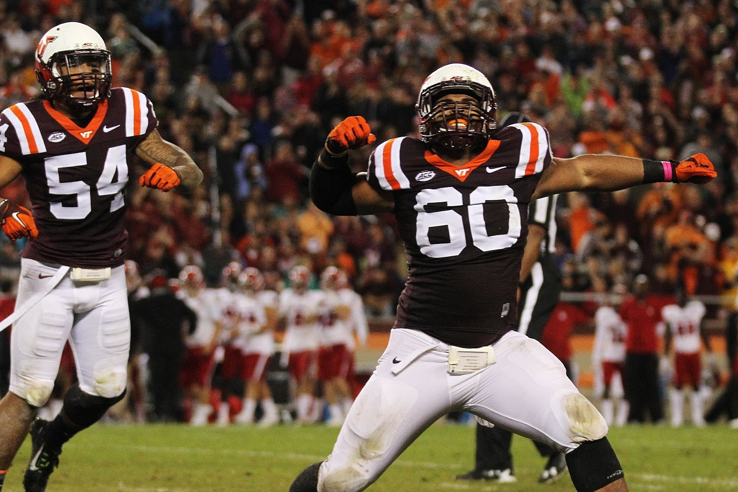 Frank Beamer demanded more emotion from his team this week.  Woody Baron and others provided it.