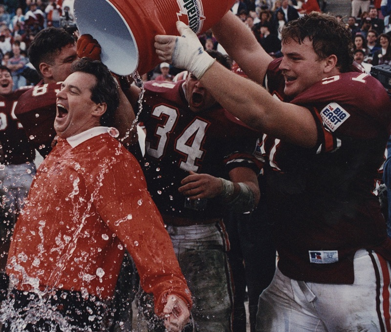 Frank Beamer, photo courtesy of Virginia Tech athletics.