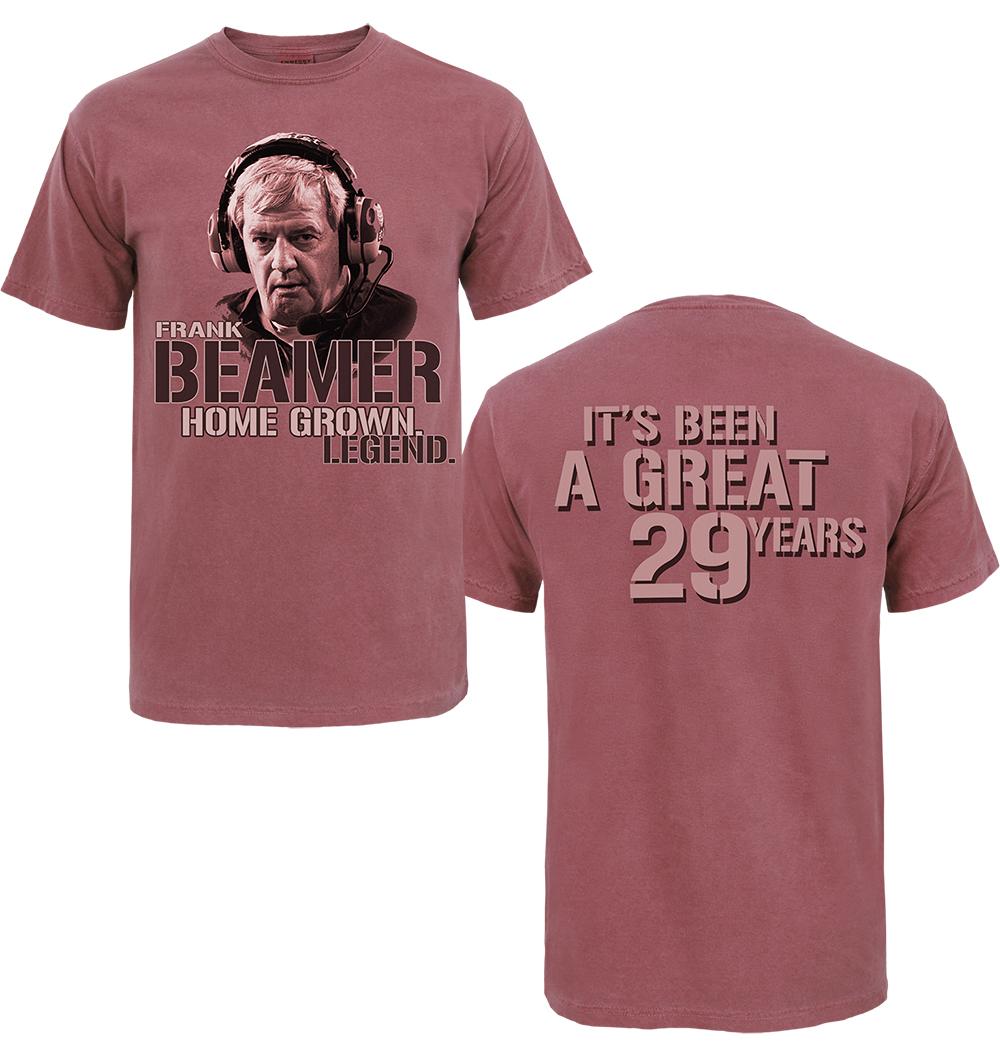 Frank Beamer, Home Grown Legend T-shirt, $24.99