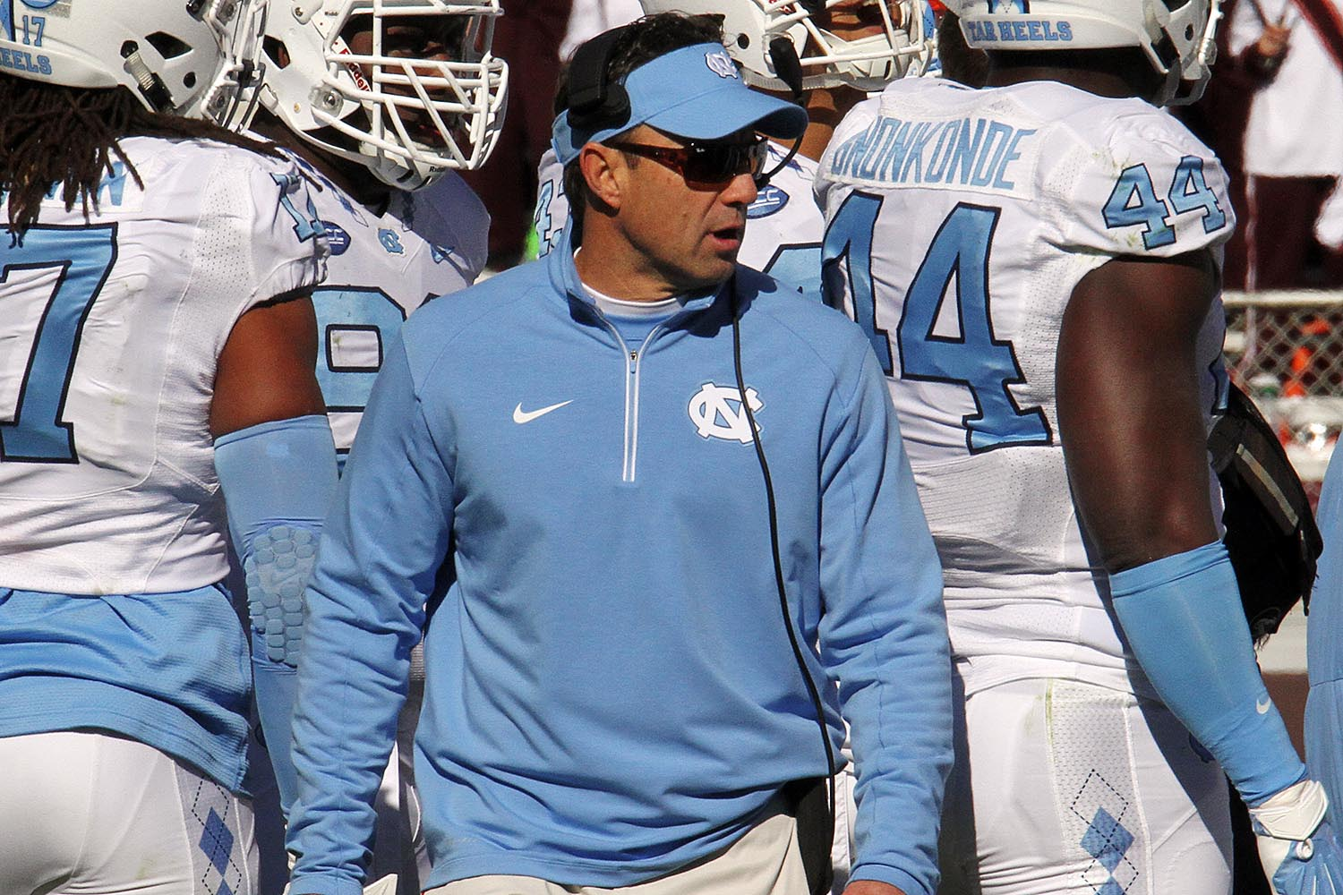 Larry Fedora has the Heels rolling in year four of his time there.