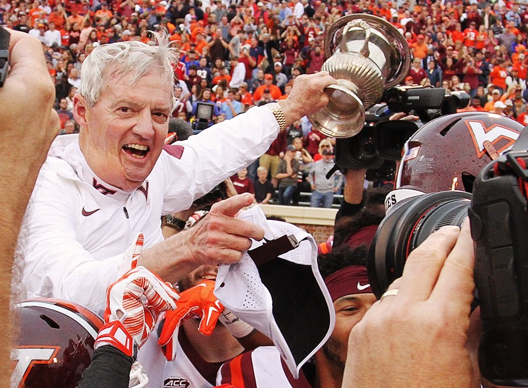 Frank Beamer Virginia Tech Commonwealth Cup