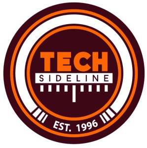 A circular version incorporating the new Tech Sideline logo in the center