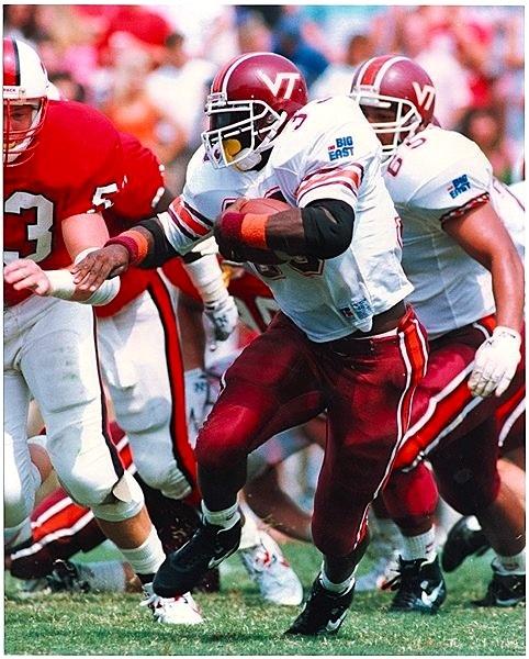 Tony Kennedy, photo courtesy of Virginia Tech athletics photography.