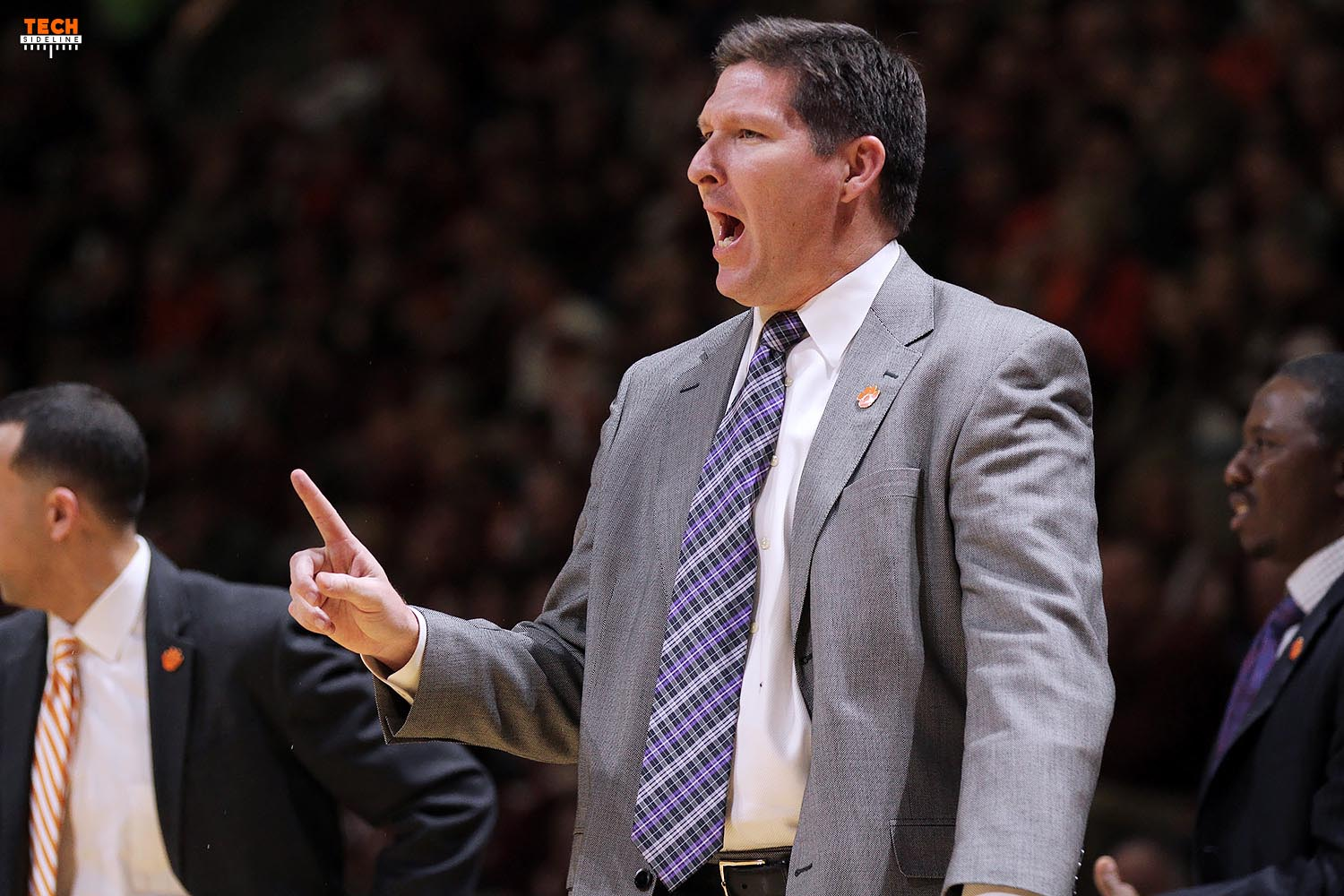 Brad Brownell and the Tigers are fighting for a postseason berth. (Ivan Morozov)