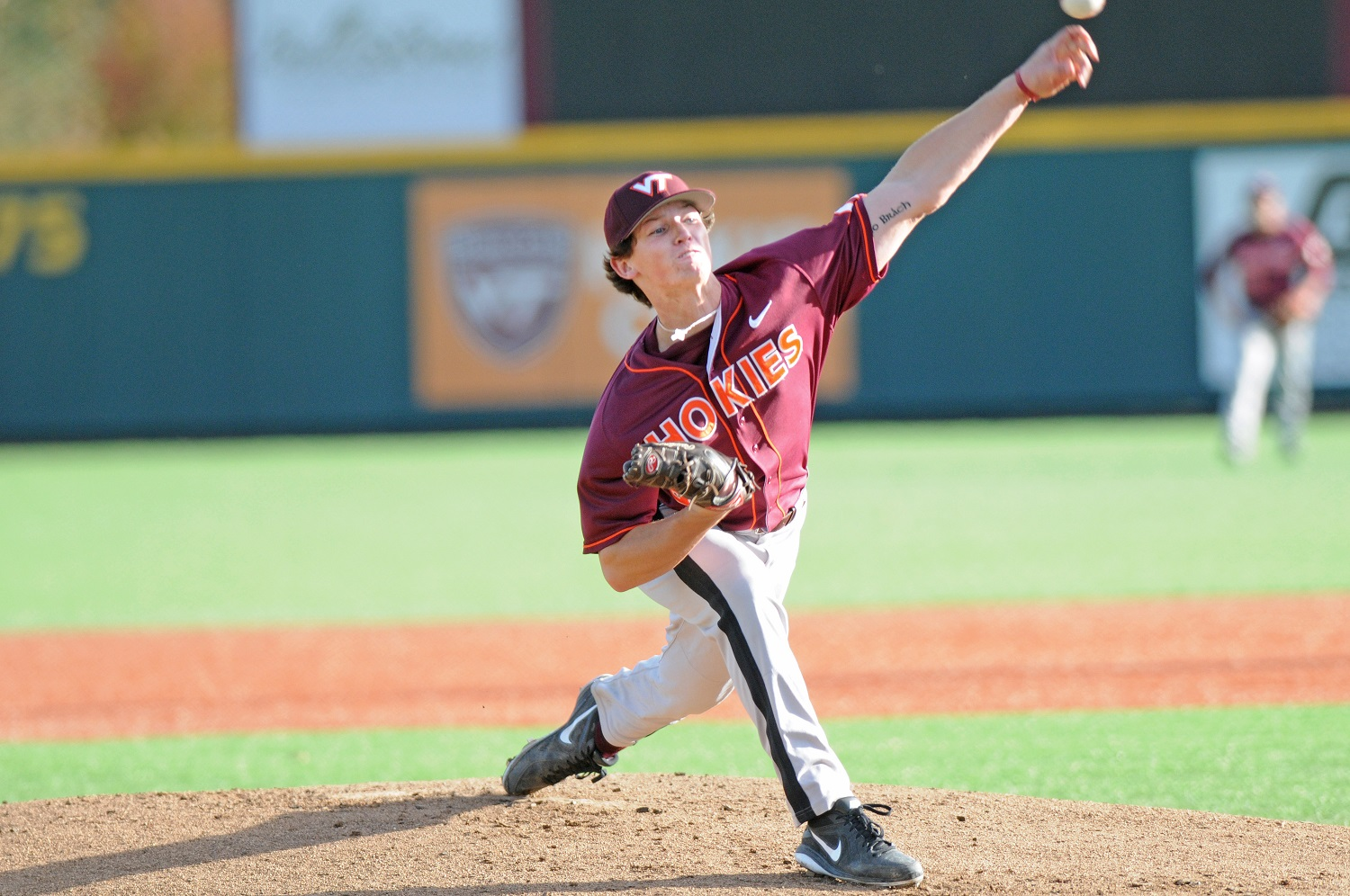 Packy Naughton, photo courtesy of Virginia Tech.