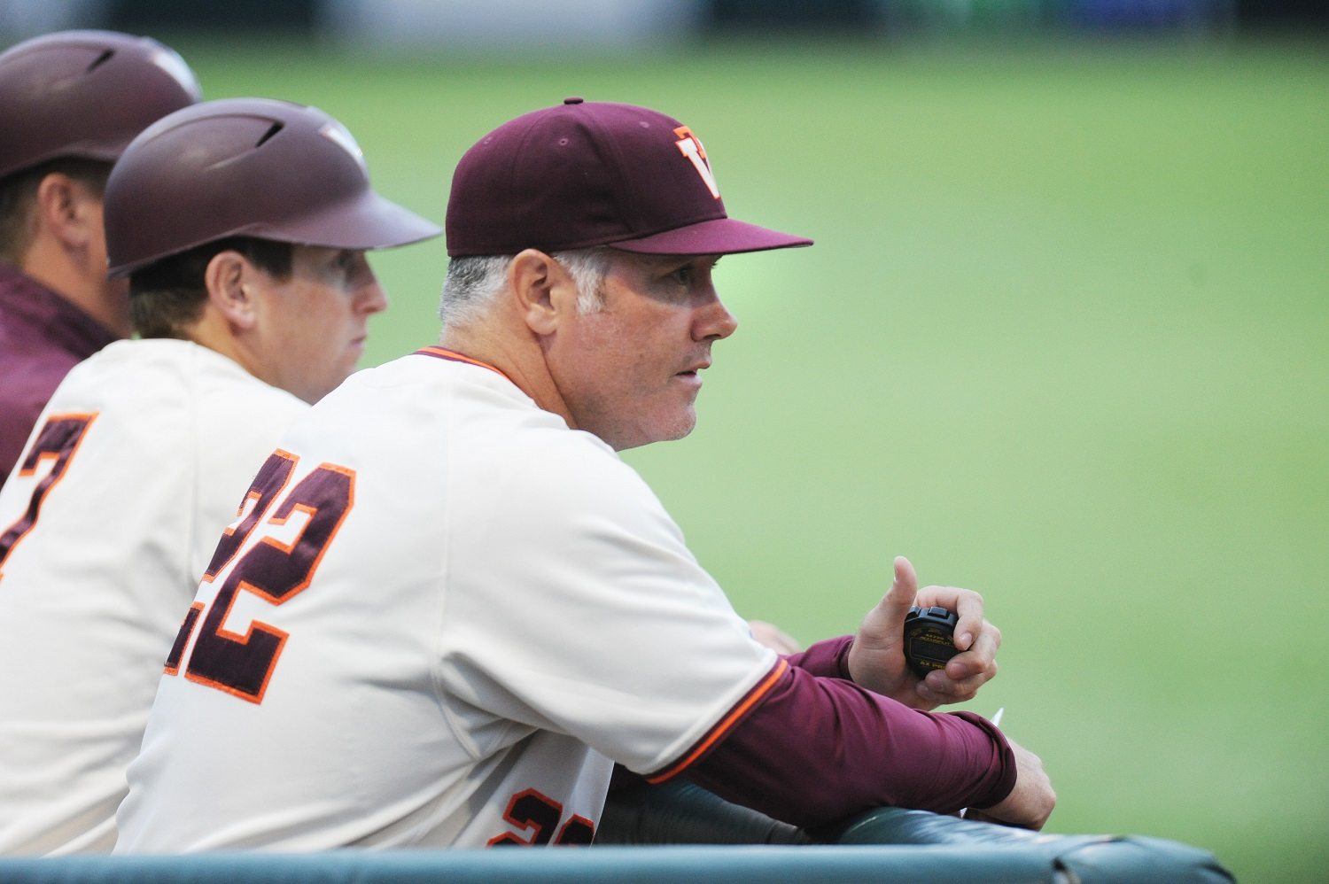 Virginia Tech baseball Pat Mason