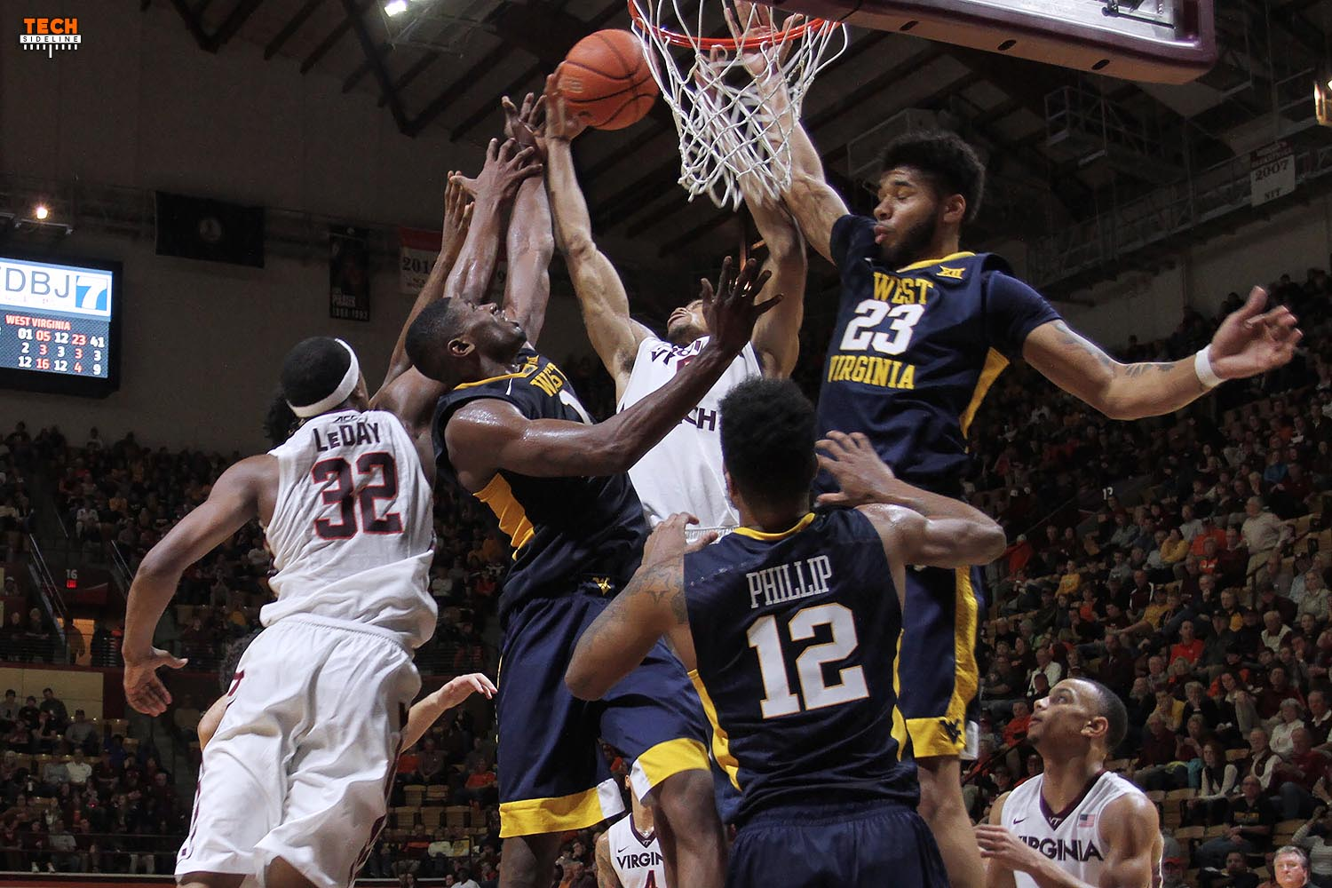 On December 30th, WVU mauled the Hokies, and things looked grim.