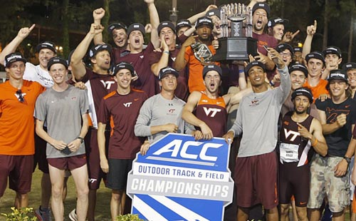 Virginia Tech men's track and field