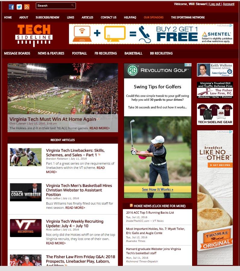 TSL's 2013 site design
