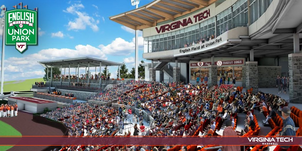 An artist's conception of the new stands behind the backstop at English Field at Union Park.