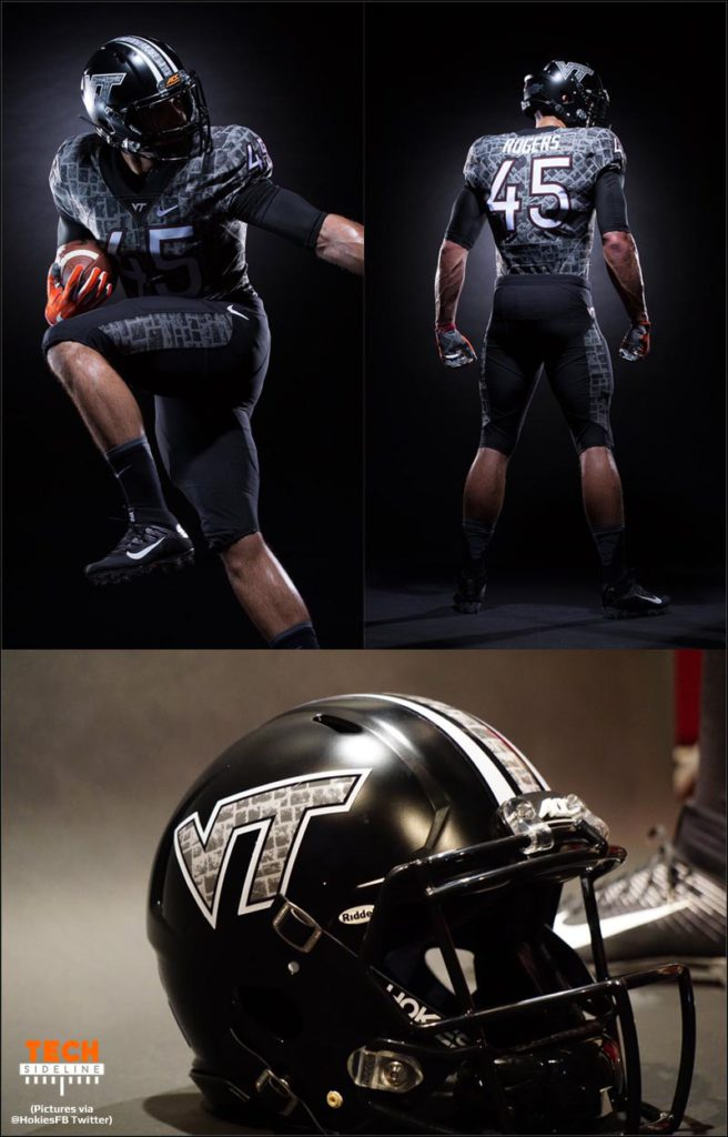Virginia Tech Battle at Bristol Uniform poll
