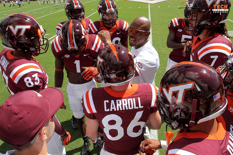 Holmon Wiggins, Virginia Tech wide receivers coach