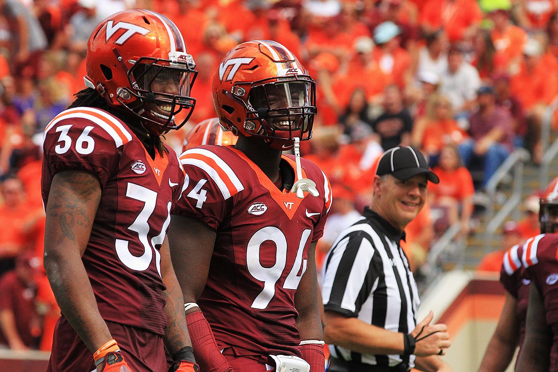 Virginia Tech football TrevonHill