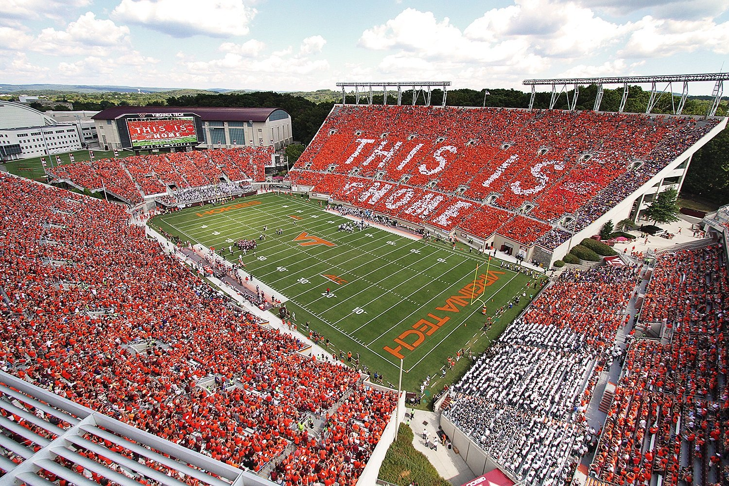 Virginia Tech athletics Lane Stadium