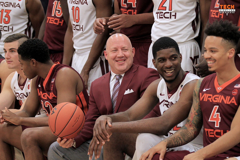 2016.10.10. Basketball. Men. Virginia Tech (Hokies) Media Day. Cassell Coliseum, Virginia Tech, Blacksburg, VA.