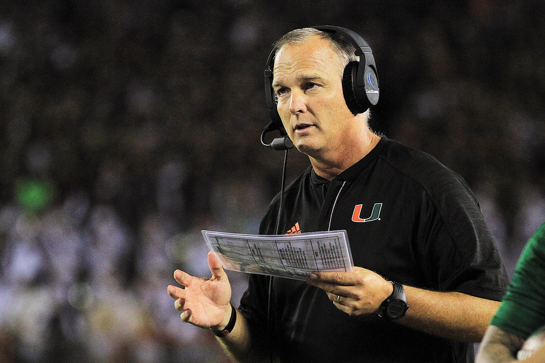 Mark Richt Miami Hurricanes